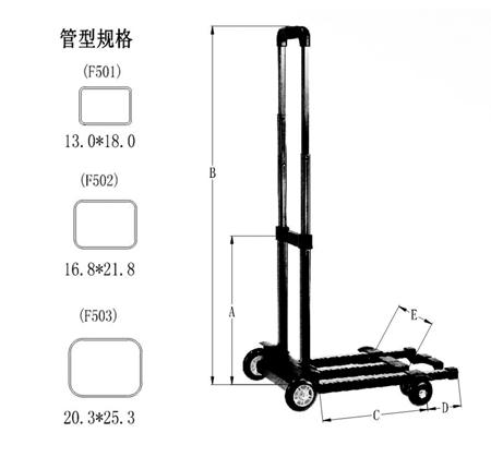行李车T819-A-3